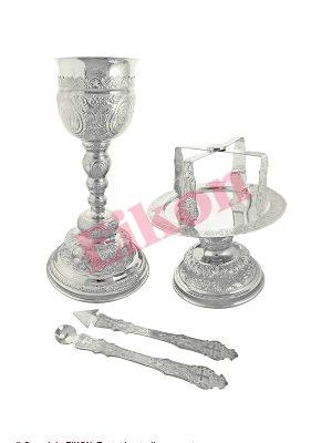 Obiecte de cult din argint masiv