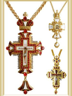 Cruci Pectorale Aurite - Cruci Stavrofor Aurite