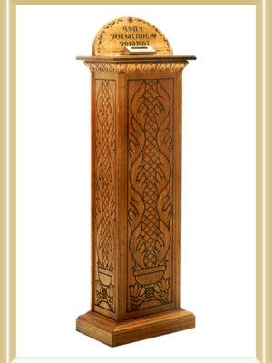 Cutia Milei - lemn