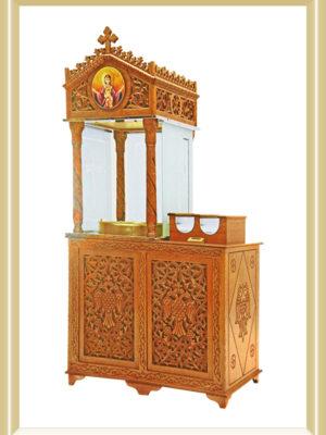 Lumânărar - Stand de lumânări cu nisip (lemn)